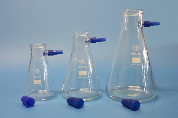 Saugflasche, 1000 ml, mit auswechselbarer Kunststoffolive