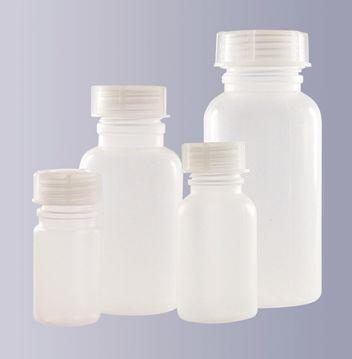 Weithalsflasche 100 ml aus Polyethylen, weich (LDPE)