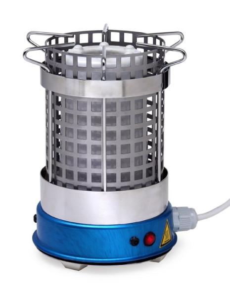 Ständer mit Schutzgitter zu Elektro-Laborbrenner