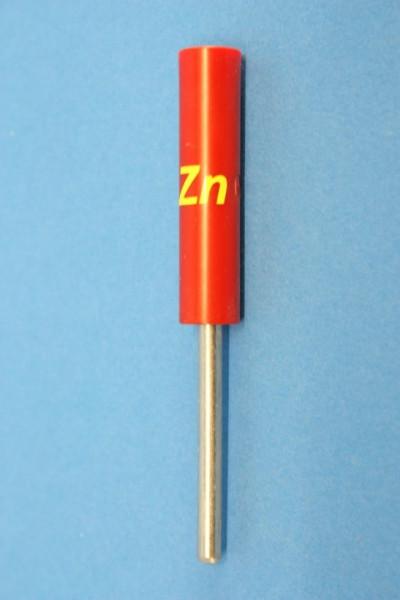 Zink Stab-Elektroden, rund 83 mm (beschriftet)