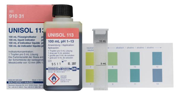 UNISOL Indikatorlösung 113, pH 1 - 13