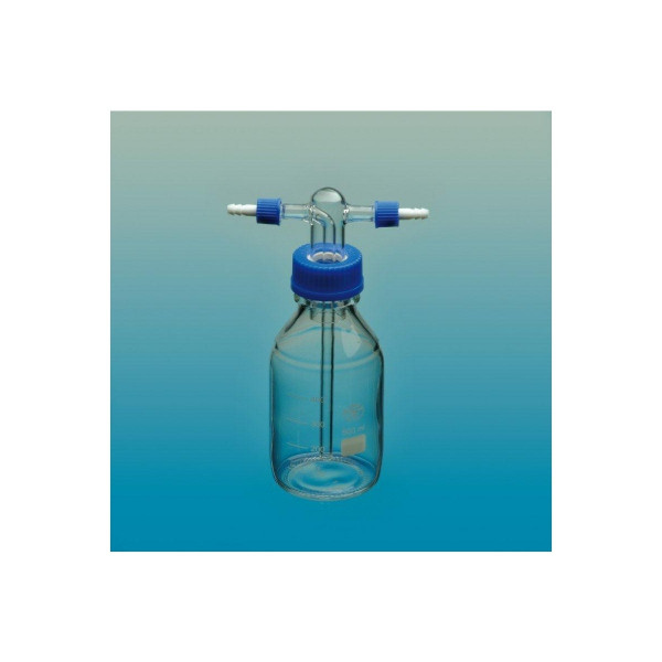 Waschflasche nach Drechsel, ohne Fritte