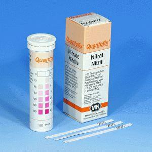 QUANTOFIX® Teststäbchen Nitrat/Nitrit, Dose à 100 Teststreifen