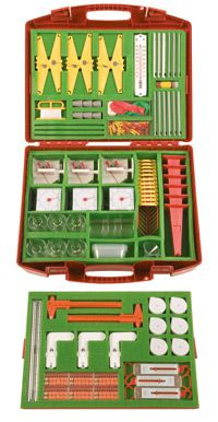 """Experimentierbox """" Messen:Temperaturen, Gewichte, Längen """""""
