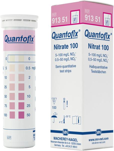 QUANTOFIX® Teststäbchen Nitrat, Dose à 100 Teststreifen