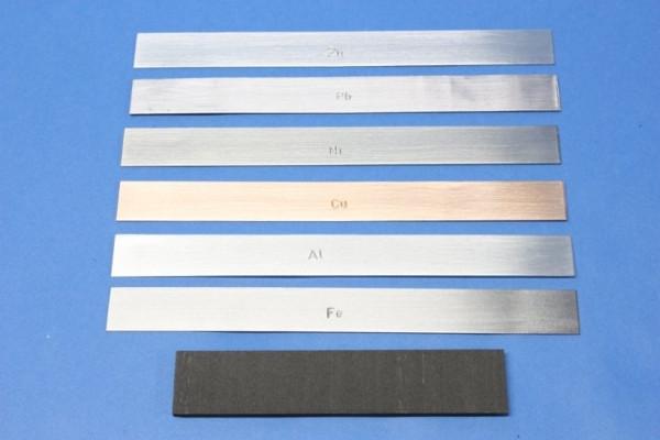 Aluminium-Streifen-Elektrode