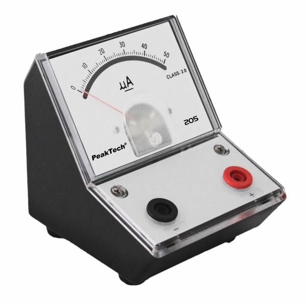 Messgerät für Lehrzwecke 0-50 µA DC
