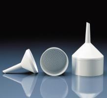 Büchner-Trichter, PP, Filter-ø: 110 mm, weiß