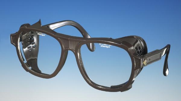 Schutzbrille, Bügel in Länge und Neigung verstellbar