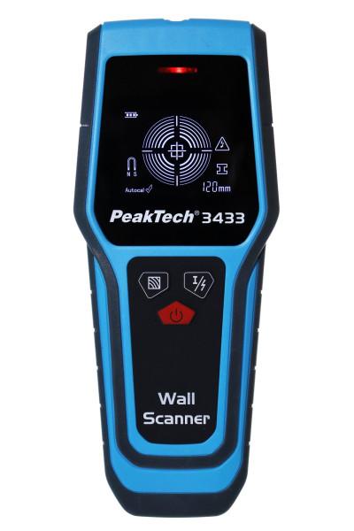Wandscanner PeakTech® P 3433»