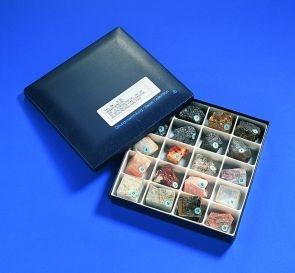 Mineralien-Set für Anfänger, 20 Mineralien