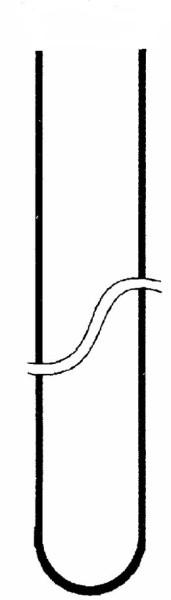 Reagenzglas aus FIOLAX® glatter Rand, 100 x 12, Anzahl pro Karton: 100 Stück