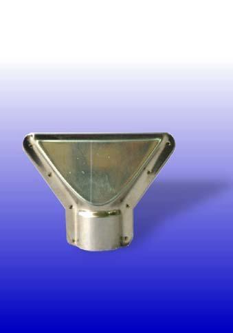 Breitbrenneraufsatz (Schnabelaufsatz) für Bunsenbrenner mit 16 mm Kopf