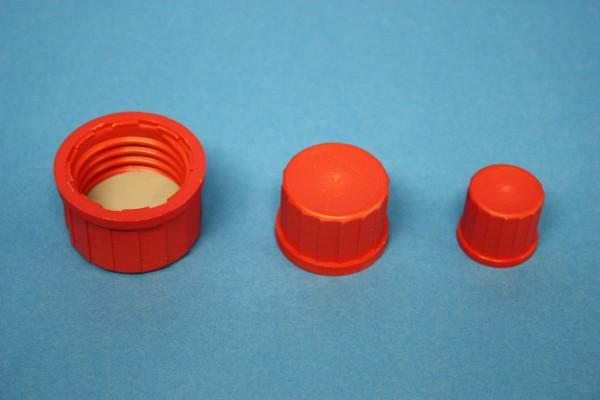 Schraubverschlusskappe, mit Dichtung, GL 25, 10 Stück