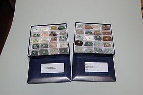 10 Gesteinsbildende Mineralien und 30 Gesteine