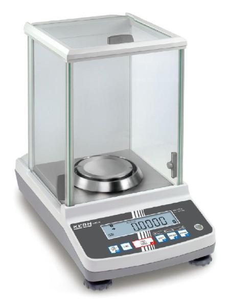Analysewaage ABJ 80-4NM, Ablesbarkeit: 0,0001 g, Wägebereich Max: 82 g