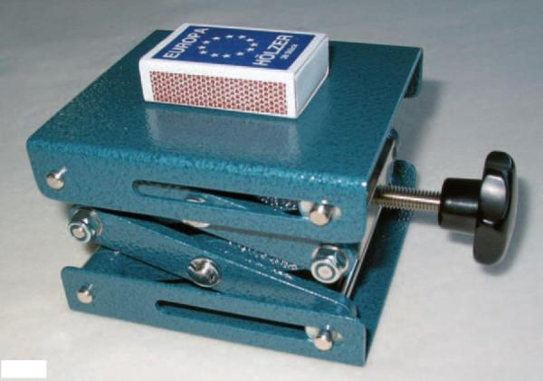 Labor-Hebebühne, 100 x 110 mm, höhenverstellbar 60 - 200 mm, nach Din 12897