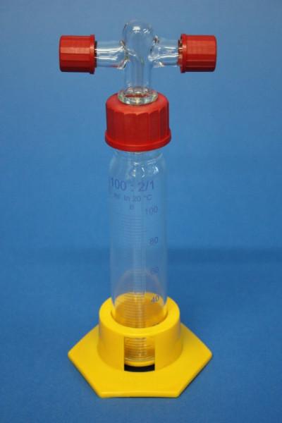Gaswaschflasche, 100 ml