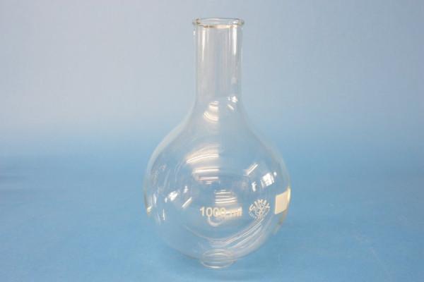 Rundkolben, Enghals, 1000 ml
