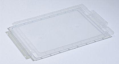 Klemmdeckel, transparent