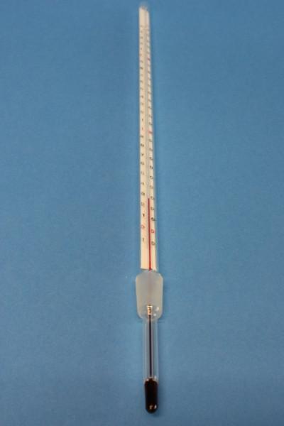 Normschliff-Thermometer, Kern NS 14/23, Messbereich: -10 ...+250°C