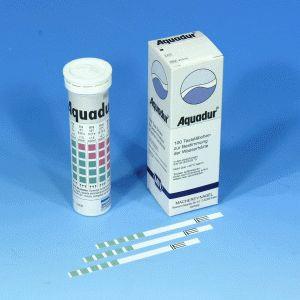 AQUADUR® Teststäbchen 5-25/Ds/100, Dose à 100 Teststreifen