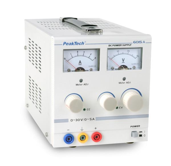 Labornetzgerät, 0 - 30 V/0 - 5 A DC 6015A RISU Konform