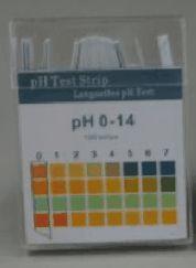 pH-Indikatorstäbchen (0 - 14) - nicht blutend, Packung à 100 Stäbchen