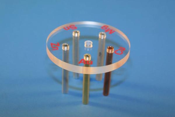 Elektrodenblock aus Plexiglas®