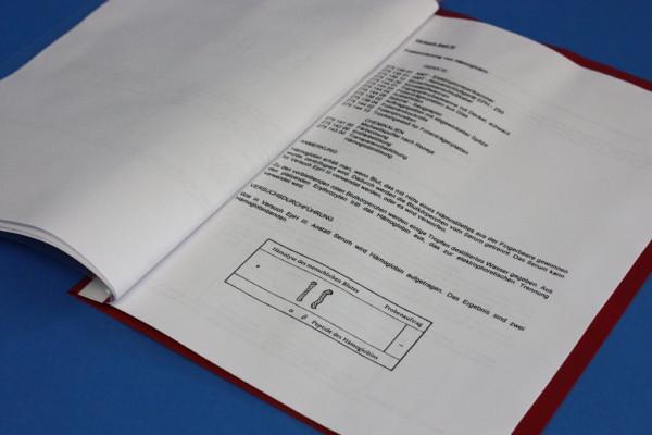 Anleitung zum Elektrophorese-Kit