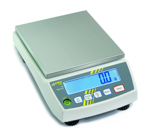 Präzisionswaage PCB 6000-1, Ablesbarkeit d: 0,1 g, Wägebereich Max: 6000 g