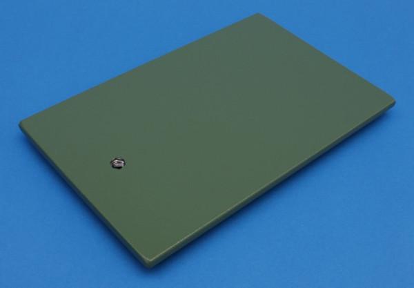 Stativplatte, 21 x 13 cm, M 10, Grauguss