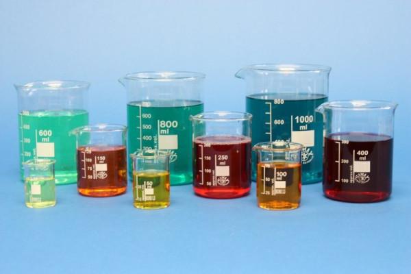 Becherglas, niedrige Form, 600 ml