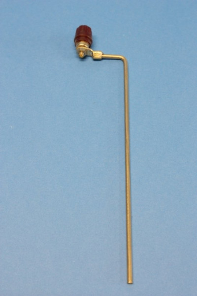Nickel, Elektrode mit 4-mm-Anschlussbuchse für Verbindungsleitung