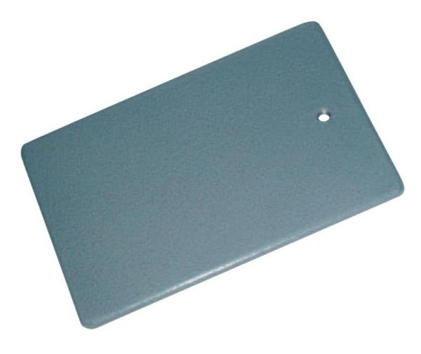 Stativplatte, 16 x 25 cm, M 10, Grauguss