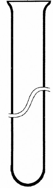 Reagenzgläser aus Borosilikatglas 3.3, 100 x 10 mm, 100 Stück im Karton