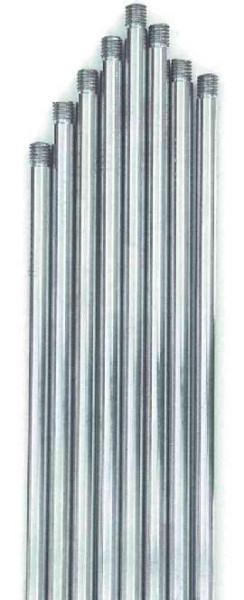 Stativstab mit Gewinde M 10, 600 mm, aus Edelstahl