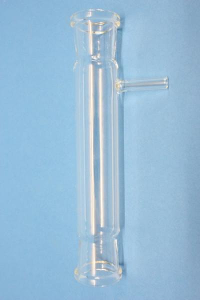 Experimentierrohr, 200 mm, aus Borosilikatglas 3.3, mit seitlichem Ansatz
