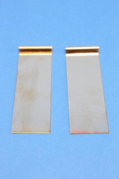Kupferblech-Elektrode, 95 x 30 mm