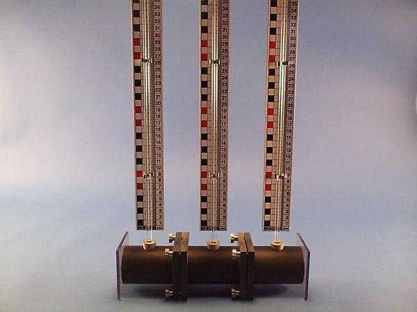 Dreifachosmometer mit Zubehör aus PVC