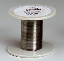Eisen-Drahtspule (Drähte, blank), 0,4 mm Durchmesser, 50 m lang