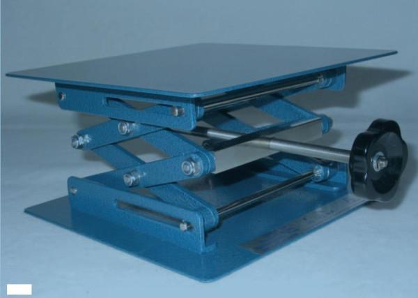 Labor-Hebebühne, 200 x 200 mm, höhenverstellbar 70 - 260 mm, nach Din 12897