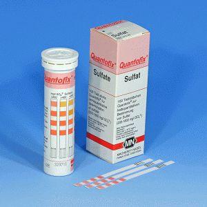 QUANTOFIX® Teststäbchen Sulfat, Dose à 100 Teststreifen