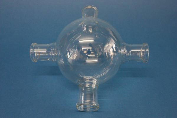 Experimentierkugel, 1000 ml, 4 x SB 29