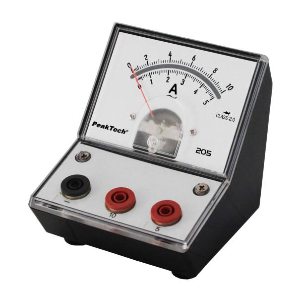 Messgerät für Lehrzwecke 0-5/ 10 A AC